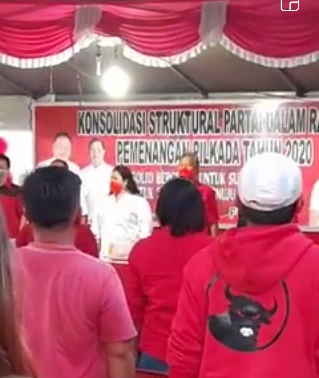 Gelombang Dukungan Luar Biasa Besar Ke FDW-PYR di Kecamatan Tenga