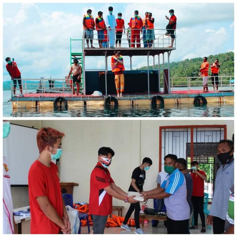 BMMU Dan BaRed, Gelar Latihan Keselamatan Masyarakat Serta Pemeriksaan Kesehatan Gratis di Desa Bahoi