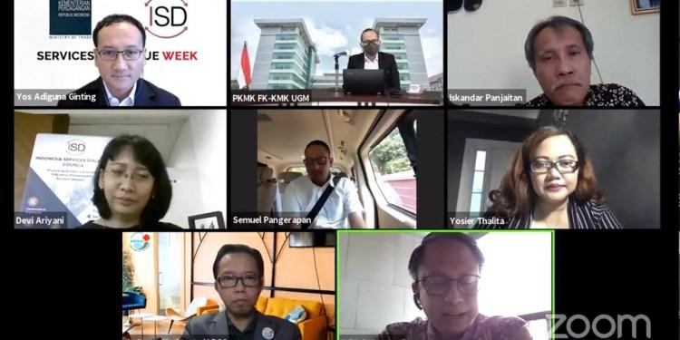 Services Dialogue Week: Peran Teknologi Digital bagi Perdagangan Sektor Jasa di Masa Pandemi