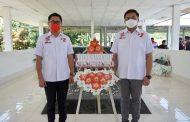 HARI PAHLAWAN Ziarah di Makam Hein Victor Worang, JG-KWL : Almarhum Adalah Tokoh Panutan dan Banyak Berjasa Bagi Sulut