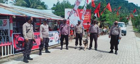Polres Minsel Gelar Pengamanan Konsolidasi FDW-PYR dan ROSO-HARUM