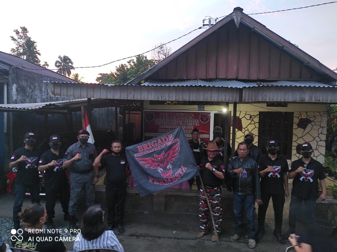 Lantik Brigade Permesta Danwil Dimembe, Jonson Wullur: Target Kami Setiap Hari Merekrut Masa