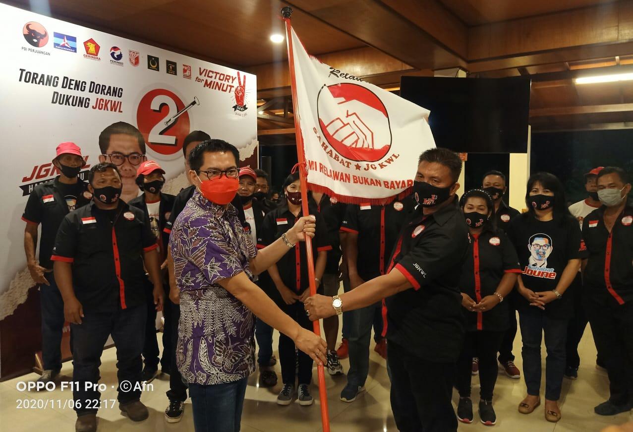 Bergerak Dengan Biaya Sendiri, Relawan Sahabat JG-KWL Bertekad Jadi Pemenang di Pilkada