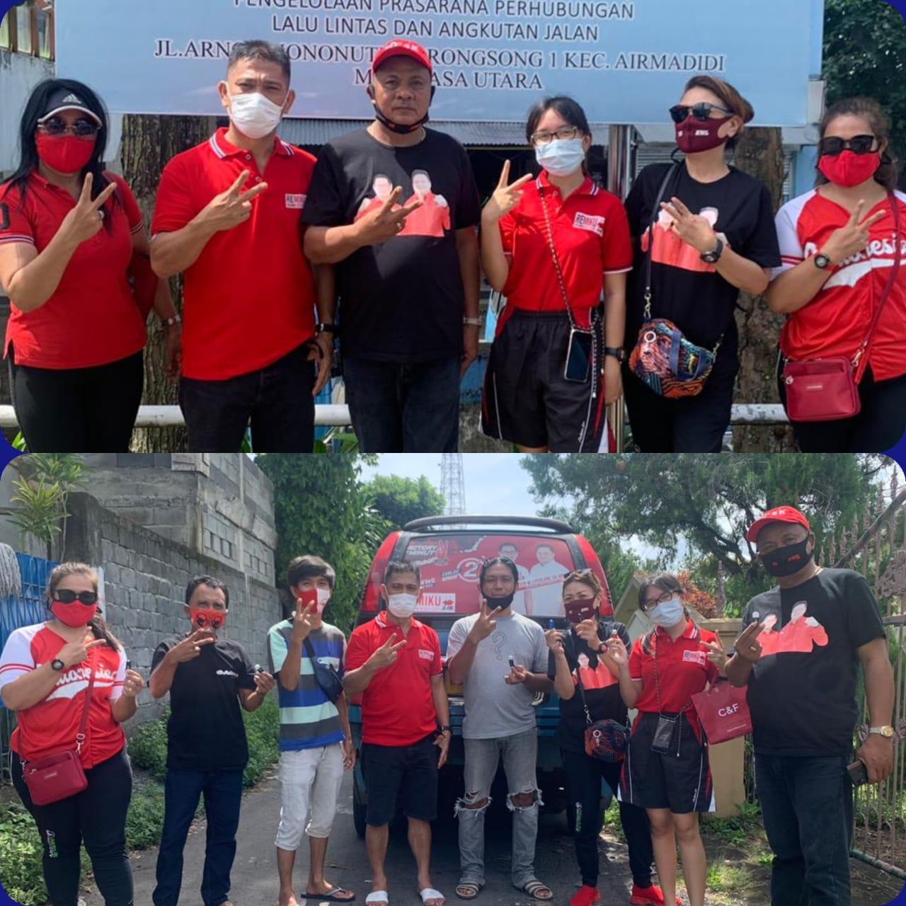 REMIKU Terus Berinovasi Menjaring Dukungan, Lantobo Bagikan Flash Gratis ke Sopir Angkot