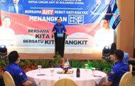 AHY Ajak Para Kader Untuk All Out Menangkan Pasangan MOR-HJP