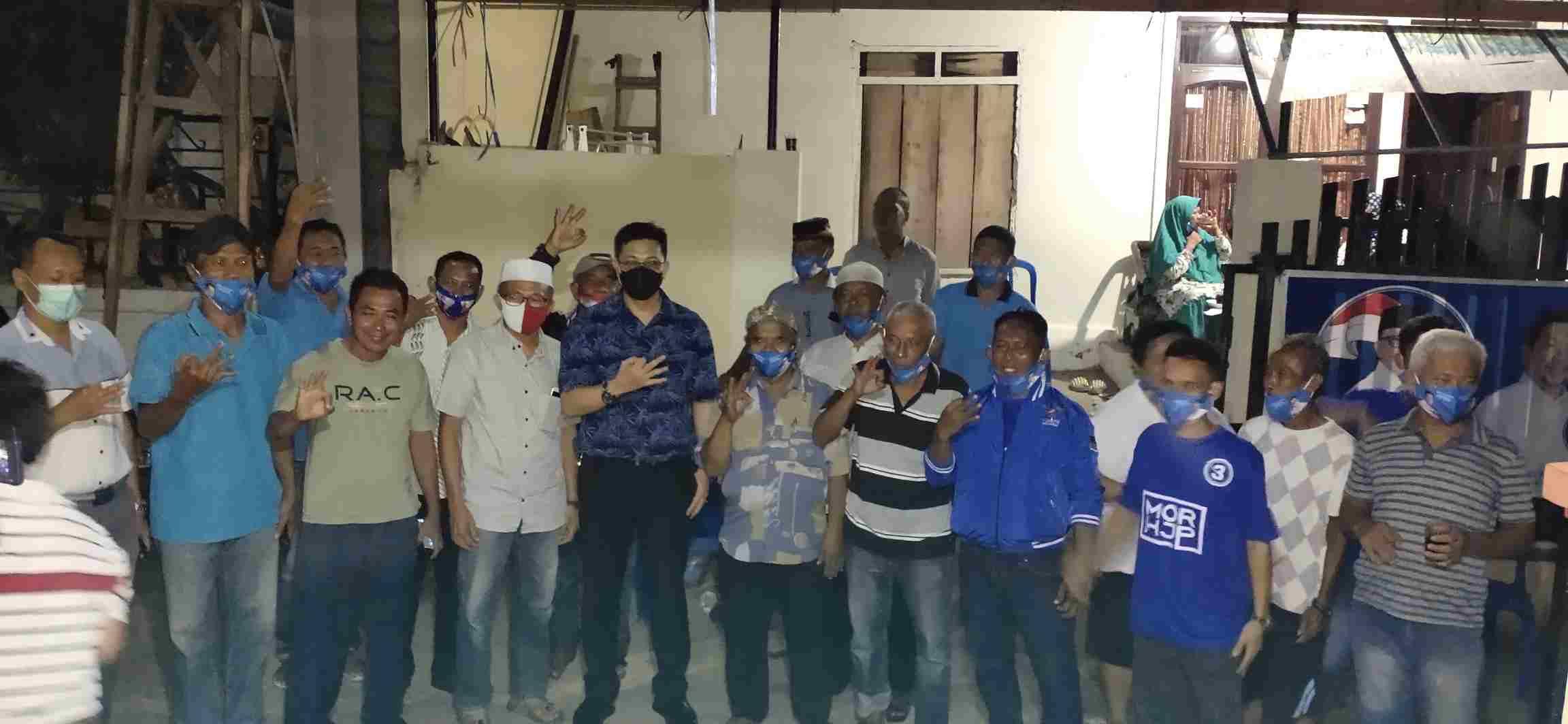 Sambagi Kelurahan Malendeng, HJP: Kami Tidak Akan Biarkan Masyarakat Berjuang Sendirian