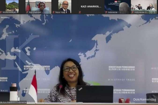 Indonesia dan Bangladesh Lanjutkan Perundingan Dagang PTA di Tengah Pandemi Global