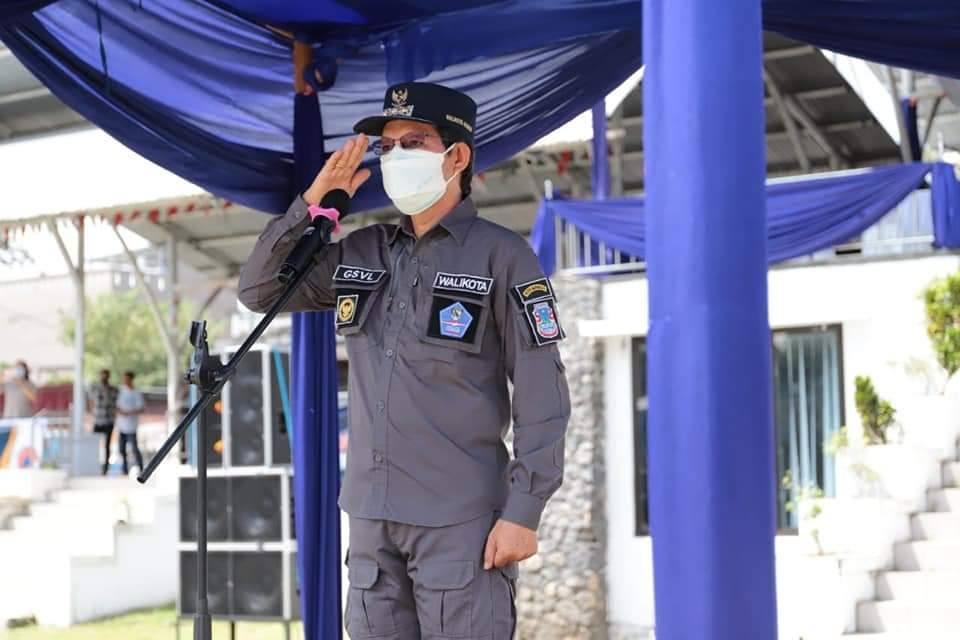 Wali Kota GSVL Pimpin Apel Kesiapsiagaan Penanggulangan Bencana