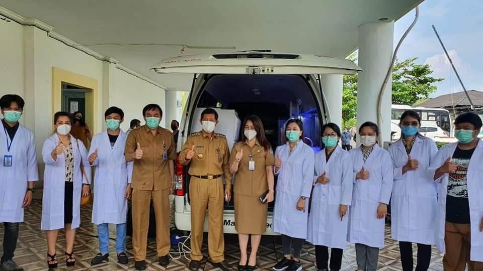 Pemkot Manado Adakan Satu Unit Mobil PCR Untuk Mempercepat Penanganan Covid-19