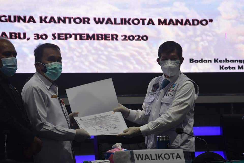 Pemkot Bersama Bawaslu Kota Manado Gelar Sosialisasi Pilkada 2020