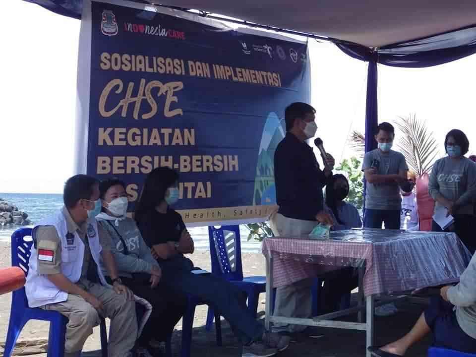 Walikota Tuntaskan Sosialisasi CHSE di Kecamatan Malalayang dan Singkil