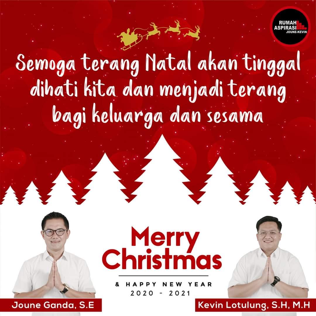 Pesan JG-KWL, Maknai Natal dengan Mematuhi Anjuran Pemerintah