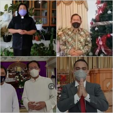 Jelang Natal dan Tahun Baru, Tokoh Gereja di Minsel Imbau Warga Hindari Pesta serta Kerumunan
