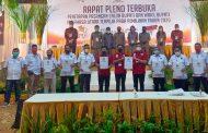 SAH!! Lewat Rapat Pleno Terbuka, JG-KWL Ditetapkan KPU Sebagai Bupati dan Wakil Bupati Minut