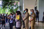 Geram Akan di Rumahkan, Satpol PP Kota Manado Lakukan Aksi Demo