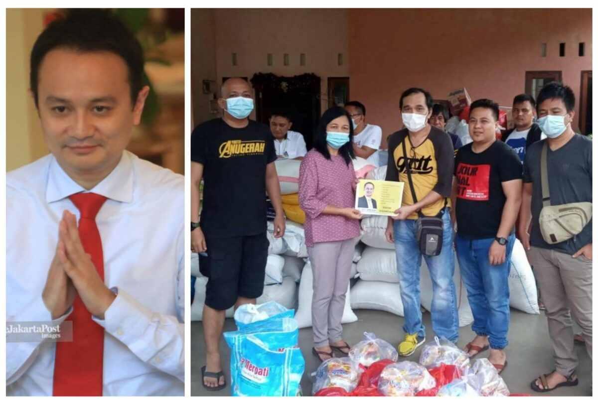 Di Tengah Kesibukan, Wamendag Jerry Sambuaga Berbagi Untuk Masyarakat Kota Manado