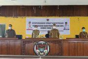 Bupati CEP dan Wabup FDW Hadiri Penyerahan SK CPNS Formasi 2019