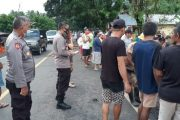 Pimpin Puluhan Personel, Kapolres Minsel Bantu Evakuasi Lokasi Banjir di Kecamatan Tenga dan Sinonsayang
