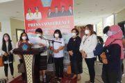 20 Organisasi Perempuan dan Anak di Sulut Desak James Arthur Kojongian Mundur