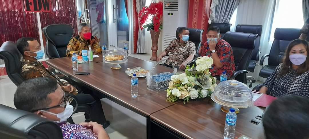 Wakil Bupati Minsel Terima Kunker Kepala BPKP Sulut