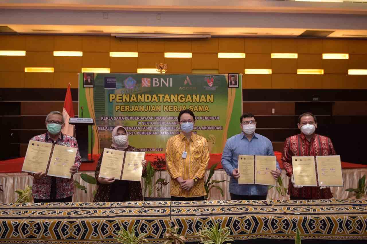 Kemendag Kembali Jalin Kerja Sama dengan Perhotelan dan Perbankan Dorong Pemberdayaan UMKM di Sulawesi Utara