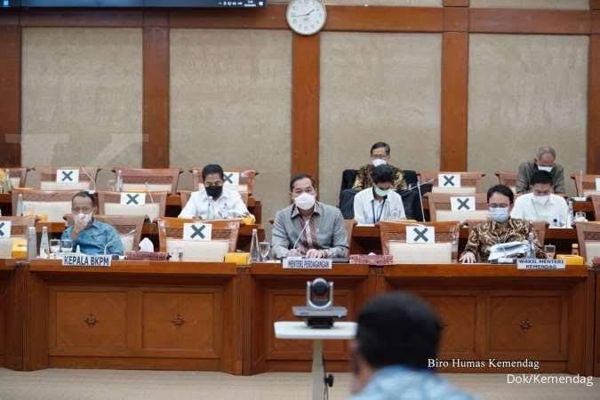 Rapat Kerja dengan Komisi VI, Mendag: Realisasi Anggaran Tahun 2020 Lebih Baik dari Sebelumnya