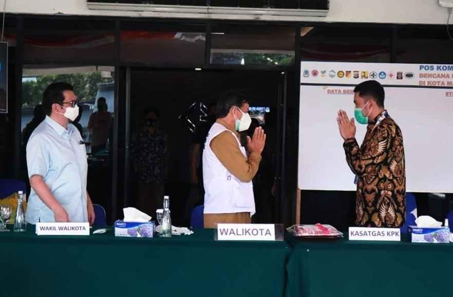 Pemerintah Kota Manado Gelar Audiensi Dengan KPK-RI