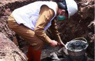 Wali Kota Manado Meletakan Batu Pertama Pembangunan Rumah Adat Toraja