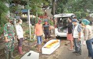 Pemkot Manado Bersama TNI - Polri Pindahkan Makam Yang Rusak Akibat Bencana