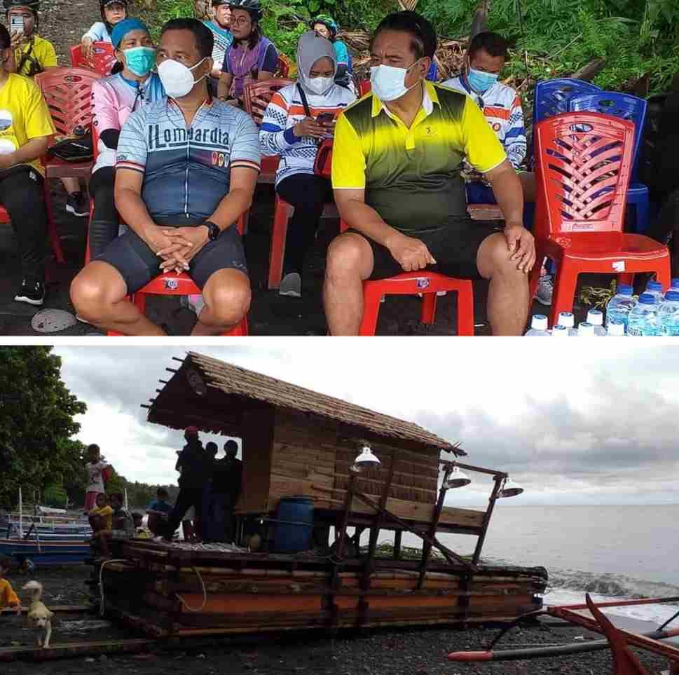 Hadiri Pelepasan Bagan, Bupati Jabes Apresiasi Kemandirian Kelompok Nelayan Mattanaya
