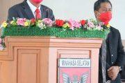 Dengarkan Pidato Bupati, DPRD Minsel Gelar Rapat Paripurna