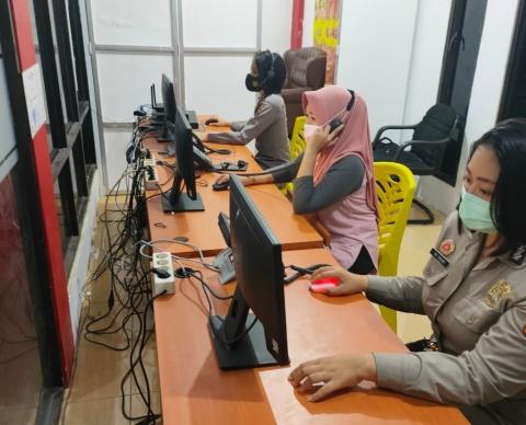 Optimalisasi Layanan Respon Cepat Aduan Masyarakat, Polres Minsel Aktifkan Call Center 110