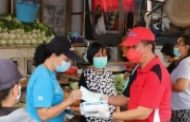 FDW-PYR Gebrak Masker di Pasar 54 Amurang