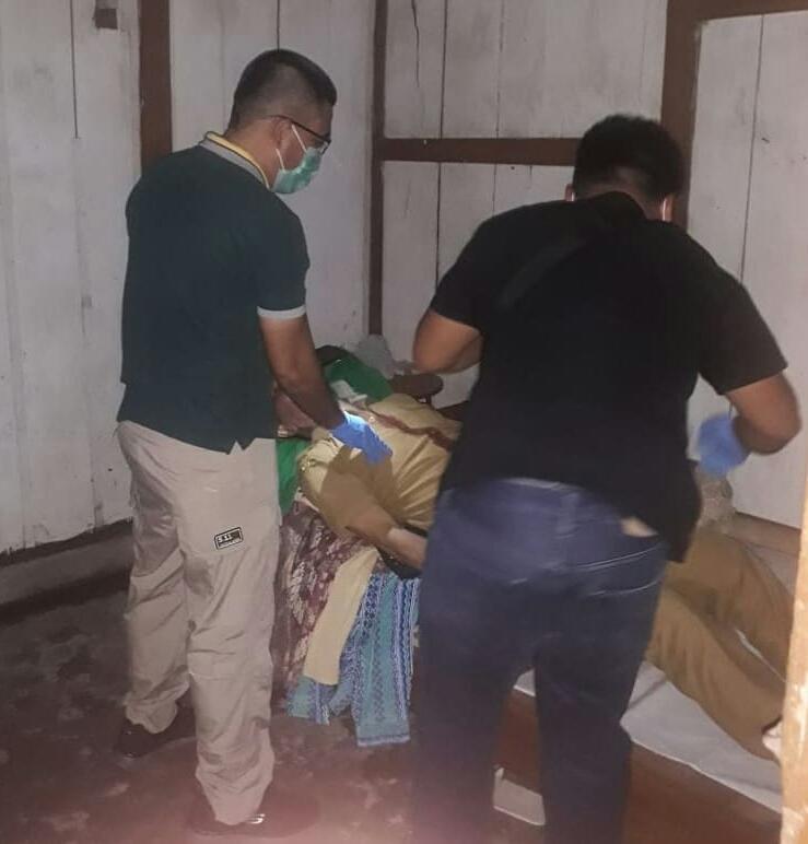 Pimpin Langsung TPTKP, Kapolres Minsel: Dugaan Sementara Korban Meninggal Gantung Diri