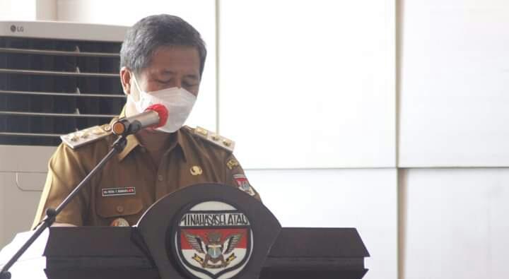 Wabup PYR Menerima Tim Studi Banding Komisi II DPRD Kabupaten Halsel