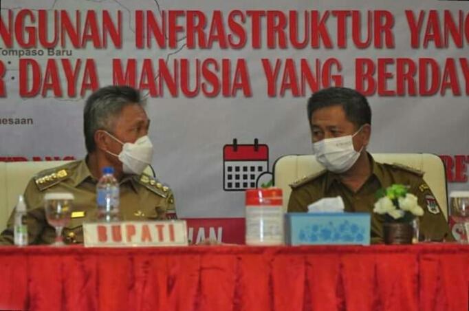 FDW Buka Musrenbang RKPD Kabupaten Minsel Tahun 2022