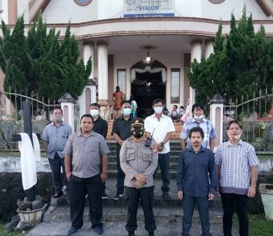 Sukses Amankan Ibadah Paskah di 456 Gereja, Kapolres Minsel: Jaga Terus Stabilitas Kambtibmas