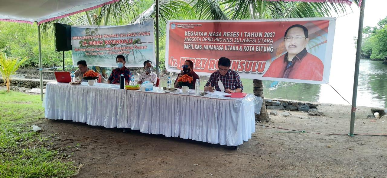 Laksanakan Reses di Desa Jayakarsa, Hero Serap Aspirasi FORKOMPPAK