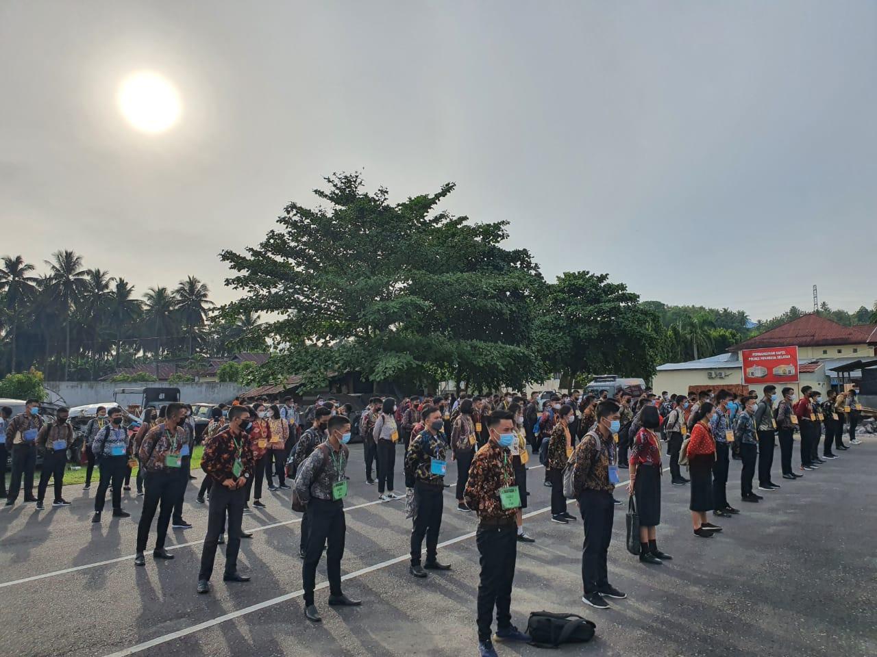 Selamat berjuang, 143 Casis Polres Minsel Siap Jalani Tahapan Seleksi Tingkat Daerah