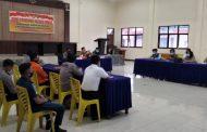 Polres Minsel bersama TNI dan Instansi Terkait Gelar Rakor Tanggap Bencana
