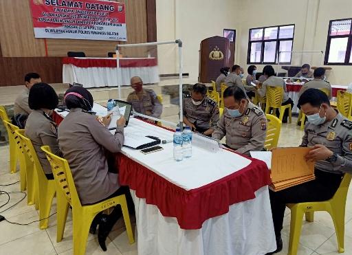Dua Hari, Tim Itwasda Polda Sulut audit kinerja Polres Minsel dan jajaran