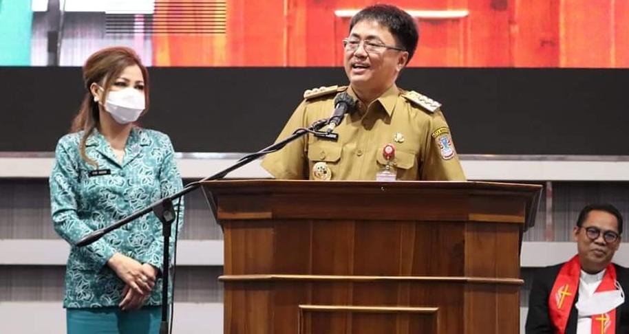 Wali Kota Andrei Angouw : Tantangan Terbesar Dari Kekuasaan Adalah 'Mabuk Kekuasaan'