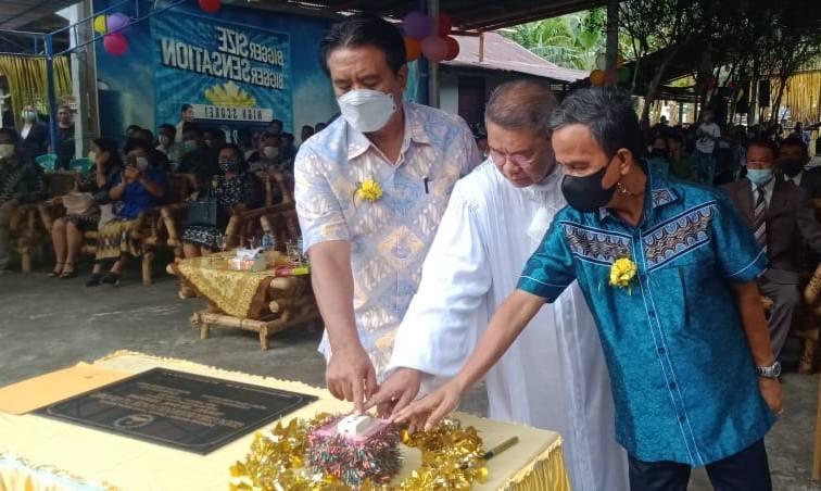 Bupati dan Wakil Bupati Sangihe Hadiri HUT Serta Peresmian Gedung Gereja Jemaat Siloam Sensong