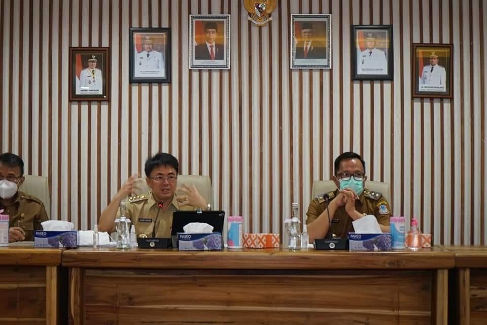 Bertemu Bapenda, AA-RS Kupas Tuntas Masalah Pengelolaan Pendapatan Daerah