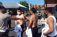 Razia Tato, Ratusan Personel Polres Minsel Tanggalkan Seragam