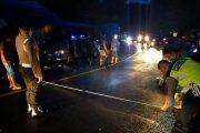 Warga Bajo Tewas Terlindas Truck, Polres Minsel Lakukan Olah TKP