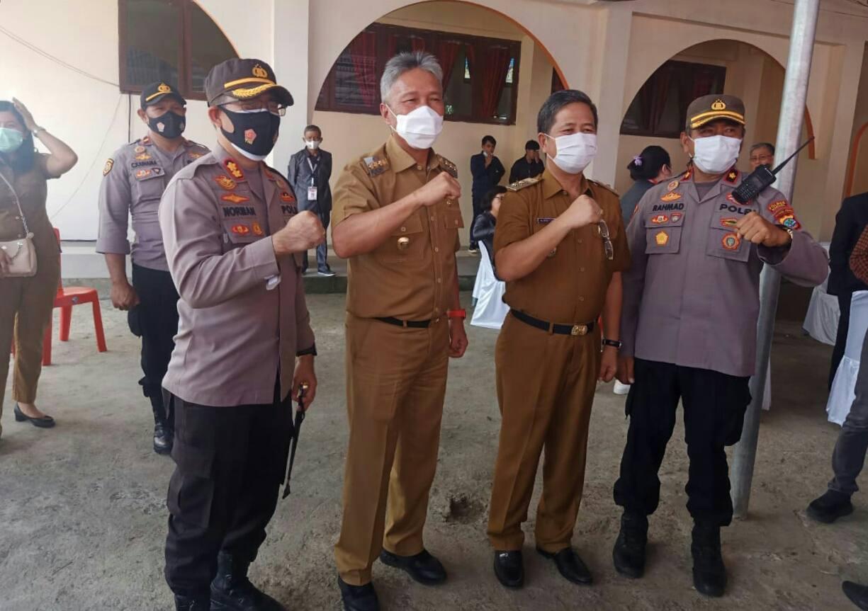 Kapolres Minsel Pimpin Pengamanan Sidang Raya KGPM ke XXXIV