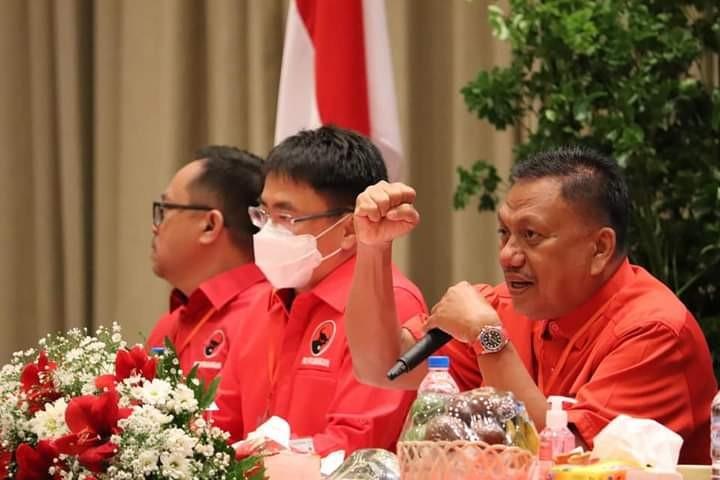 Mantapkan Langkah Kemenangan Pemilu 2024, DPC PDI-P Manado Gelar Rakercab