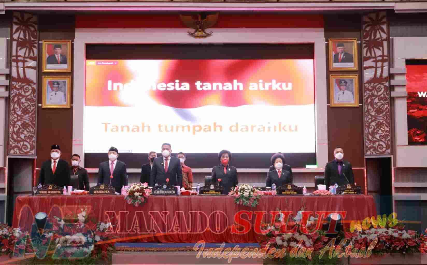 Wali Kota Manado Sampaikan Pidato Perdana Dalam Rapat Paripurna