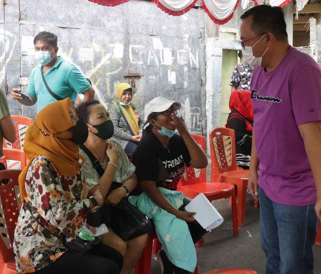 Warga Kampung Islam Antusias Ikuti Vaksin Hebat Pemkot Manado